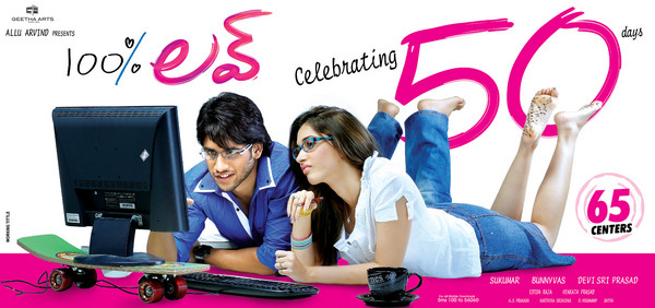 100% Love Movie 50 days Wallpapers