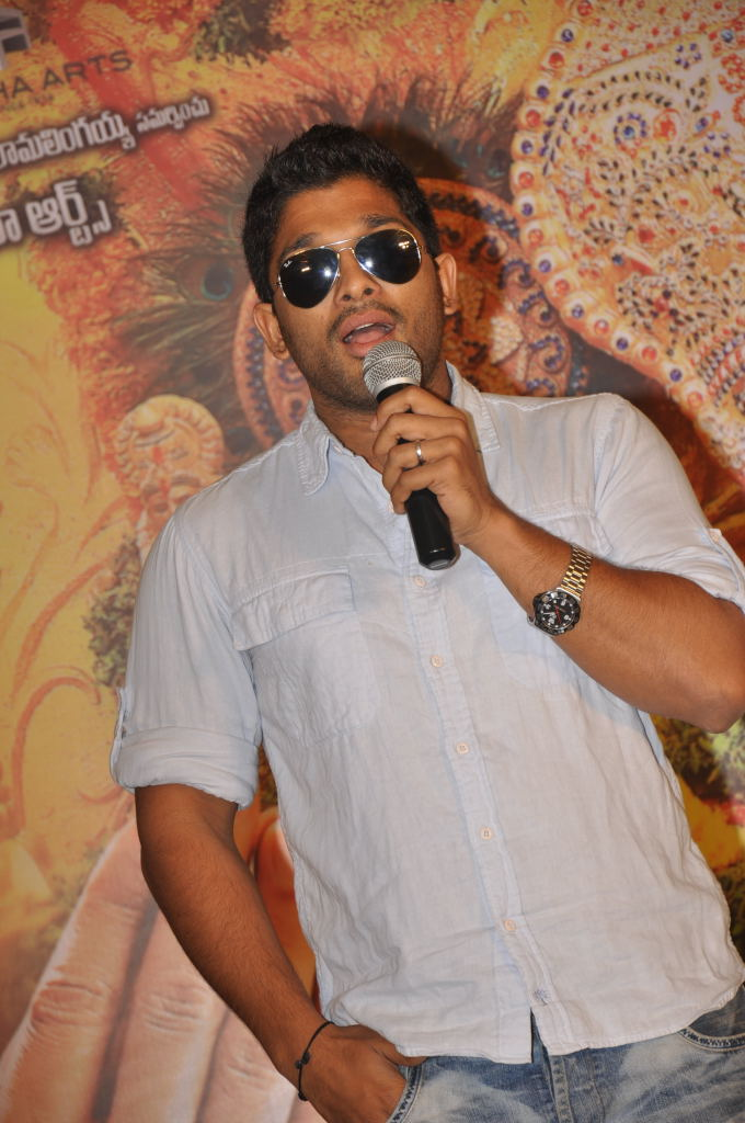Badrinath Movie Success Meet