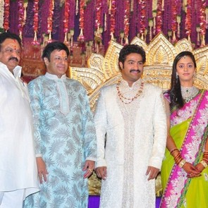 Balakrishna Family Stills At Jr Ntr Lakshmi Pranathi