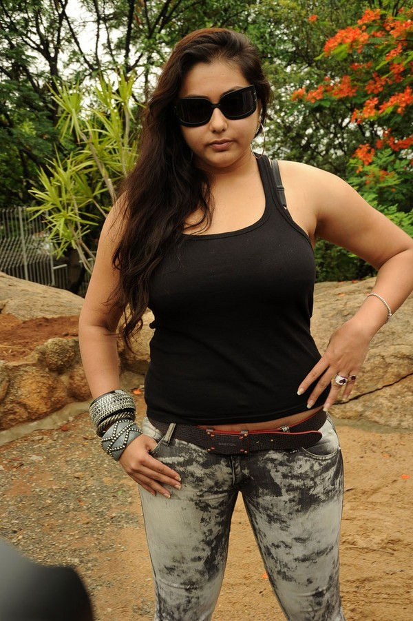 Namitha at Sukra Movie Launch Event