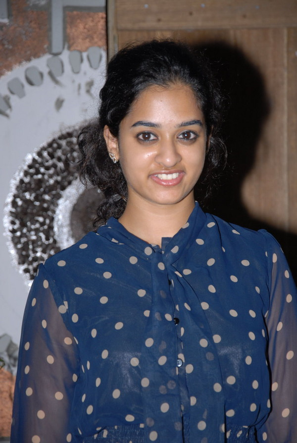 Nandita at Neeku Naaku Dash Dash Success Meet
