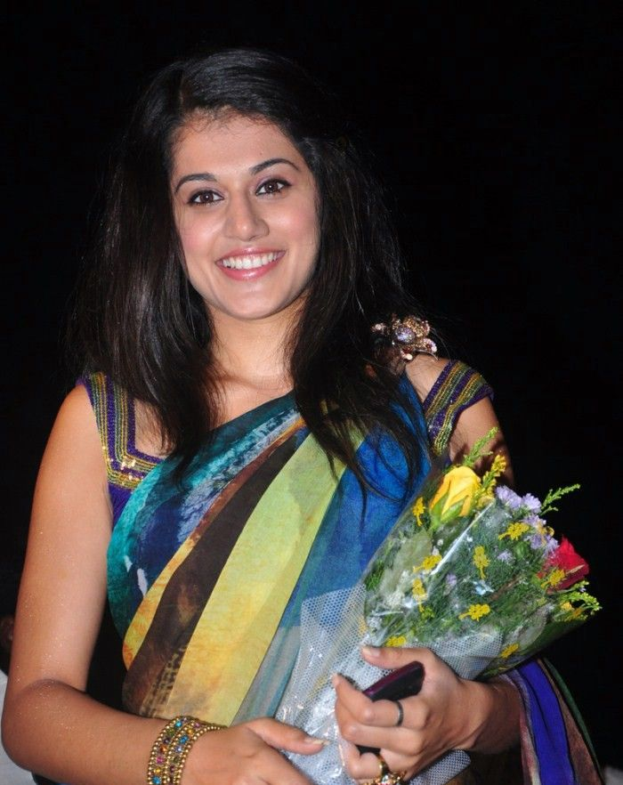 Tapsee at Vanthaan Vendraan Movie Audio Launch