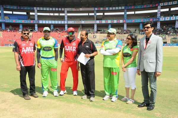Telugu Warriors Vs Kerala Strikers CCL-2 Match Photos