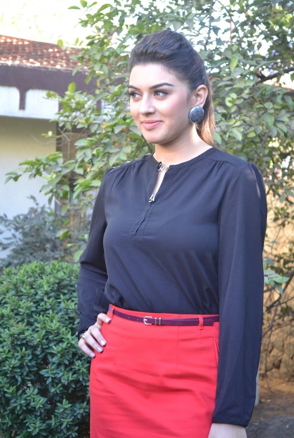 Hansika Hot Photos at 'Settai' Movie Press Meet