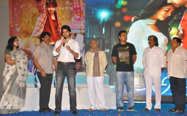 Sushanth Celebrates his Birthday with Family Members and Media