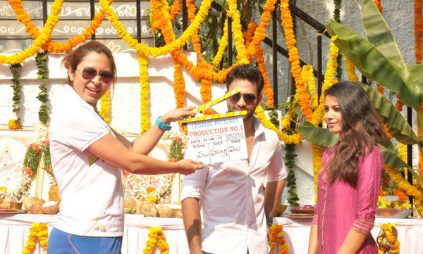 Navdeep's Legend Pictures New Movie Launch in Hyderabad