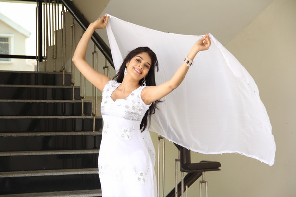 Rithika Hot Photoshoot in White Salwar Kameez - May 22, 2013